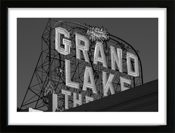 Grand Lake Theatre i Oakland - By Night