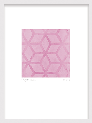 Plakat med pink ornament_Palm Springs